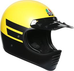 AGV X101 Yellow Black Dust Helmet