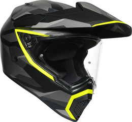 AGV AX9 Black Yellow Siberia Helmet