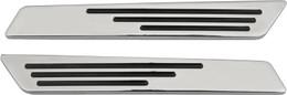 Drag Specialties Saddlebag Hinge Inserts - Chrome - 14-19  -  3501-0962