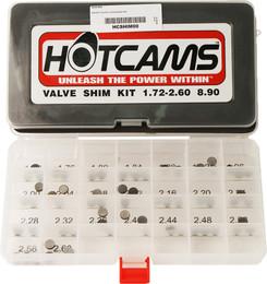 Hot Cams Valve Shim Kit 69Pc Ktm - HCSHIM00