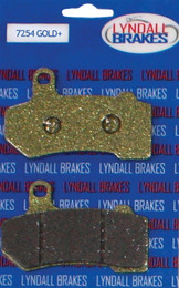 LYNDALL BRAKES GOLD PLUS BRAKE PADS (7254 GOLD+)