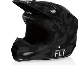 Fly Racing Kinetic S.E. Tactic Matte Grey Camo Helmet