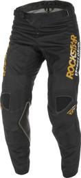 Fly Racing Kinetic Black Gold Rockstar Pants