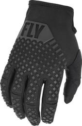 Fly Racing Kinetic Black Gloves