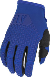 Fly Racing Kinetic Blue Gloves
