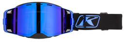 Klim Edge Blue Chrome-Dk Smoke-Blue Mirror Focus Goggle