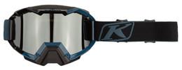 Klim Viper Petrol-Dark Smoke-Silver Mirror Hex Snow Goggle