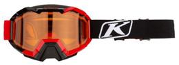 Klim Viper High Risk Red-Persimmon Hex Snow Goggle
