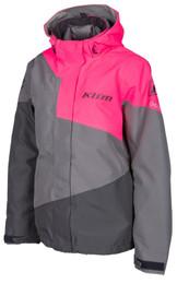 Klim Fuse Castlerock Gray-Knockout Pink Jacket