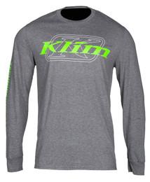 Klim K Corp Charcoal-Electrik Gecko Long Sleeve Tee