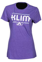 Klim Kute Corp Purple-Monument Womens Short Sleeve Tee