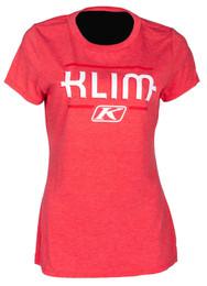 Klim Kute Corp Red Frost-Chili Pepper Womens Short Sleeve Tee