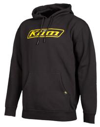 Klim Corp Black-Vibrant Yellow Hoodie