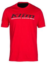 Klim K Corp Red-Black Short Sleeve Tee