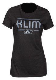 Klim Kute Corp Black-Asphalt Womens Short Sleeve Tee