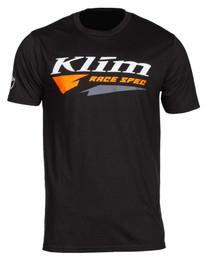 Klim Race Spec Black-Strike Orange Short Sleeve Tee