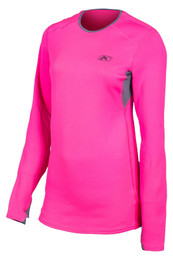 Klim Solstice 2.0 Knockout Pink-Castlerock Gray Shirt