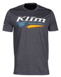 Klim Race Spec Charcoal-Petrol Short Sleeve Tee