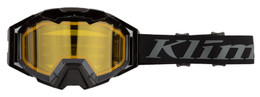 Klim Viper Pro Black-Yellow Tint Vanish Snow Goggle