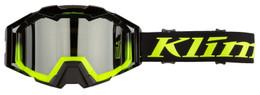 Klim Viper Pro Hi-Vis-Dark Smoke-Silver Mirror Vanish Snow Goggle