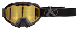 Klim Viper Black-Yellow Tint Hex Snow Goggle