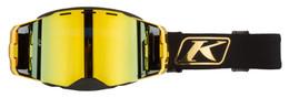Klim Edge Gold-Gold Mirror Focus Goggle