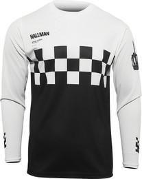 Thor Hallman Black White Differ Cheq Jersey