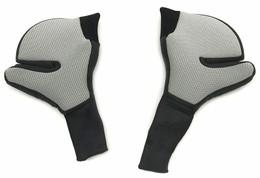 Shark Helmets Drak Silver Cheek Pads