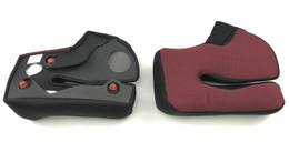 Shark Helmets Race-R Pro Red Bamboo Cheek Pads