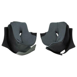 Shark Helmets Skwal Titanium Cheek Pads