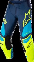 Alpinestars Techstar Factory Dark Blue Yellow Fluo Neo Pants