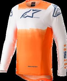 Alpinestars Supertech Foster White Orange Dark Blue Jersey