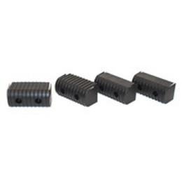 "Caliber Bunk End Caps 2X4"" Black 24/Pk - 23072-BK"