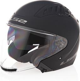LS2 Copter Solid Matte Black Helmet