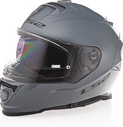 LS2 Assault Solid Gloss Battleship Gray Helmet