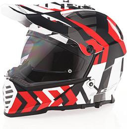 LS2 Blaze Xtreme Gloss Red Black White Helmet