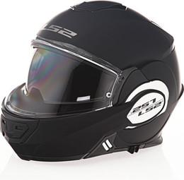 LS2 Valiant Solid Matte Black Helmet