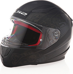 LS2 Rapid Crypt Matte Black Helmet