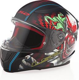 LS2 Rapid Happy Dreams Gloss Black Helmet