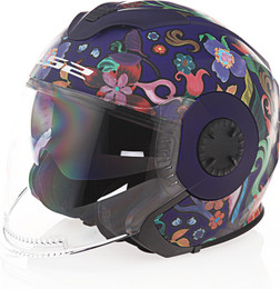 LS2 Verso Flora Brasil Matte Navy Helmet