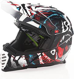 LS2 Youth Gate Beast Gloss Black Helmet