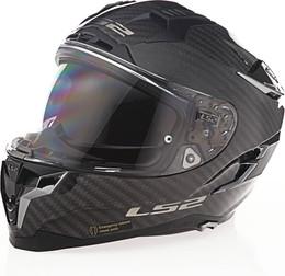 LS2 Challenger C Solid Gloss Carbon Helmet