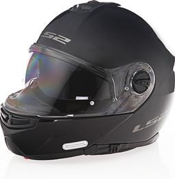 LS2 Strobe Solid Gloss Black Helmet