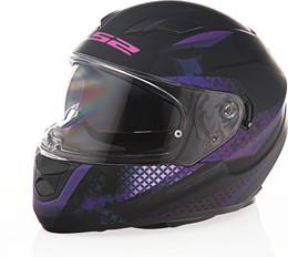 LS2 Stream Lux Matte Black Pink Helmet