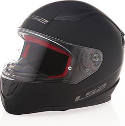 LS2 Rapid Solid Matte Black Helmet