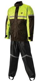 Nelson-Rigg Stormrider Rain Suit Black/Hi-Vis S - SR-6000-HVY-01-SM