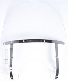 National Cycle Switchblade Windshield 2-Up (Clear) - N21107