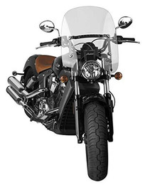 """National Cycle Spartan Windshield Clear 16.25"""" - N21303"""