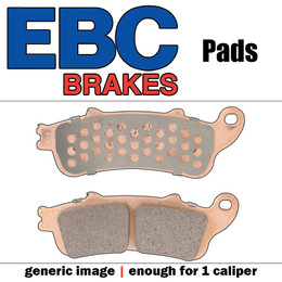 EBC Double-H Sintered Brake Pads EPFA16HH