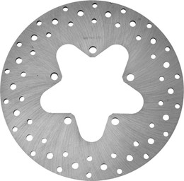 Harddrive Rear Rotor 11.5 Steel Drilled Touring 86-99 (11-075)